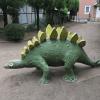 八王子の恐竜公園に行ってステゴザウルスに会ったよ