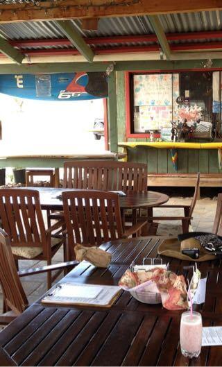 Surfing Gort Dairyのオープンカフェ