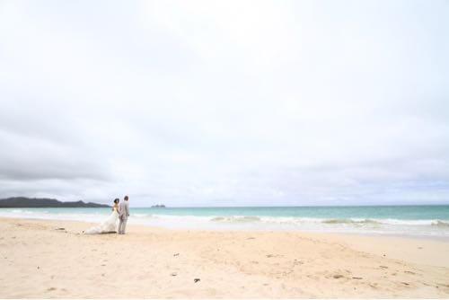 ワイマナロビーチでのビーチフォト