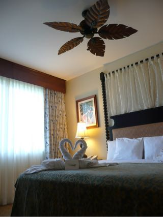 キングスランドの寝室