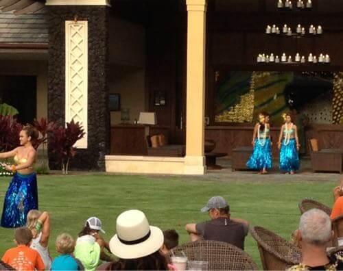 ワイコロアのキングスランドのフラダンス