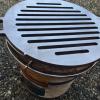七輪でステーキ、網で焼く?それとも鉄板?いやいや極厚鉄板グリル(厚さ9mm)でしょ